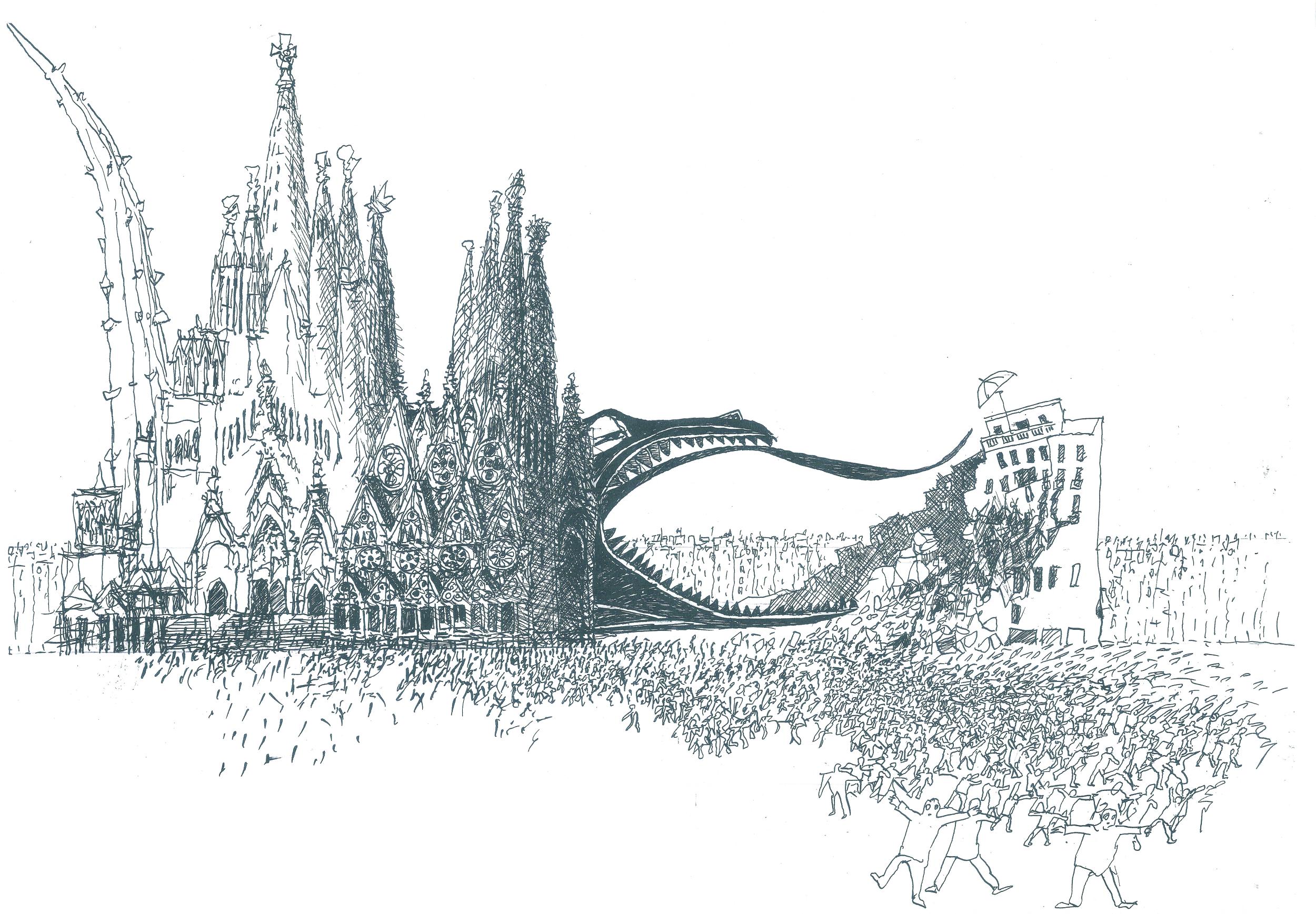 The  Sagrada Familiasorus  by Michael Duncan