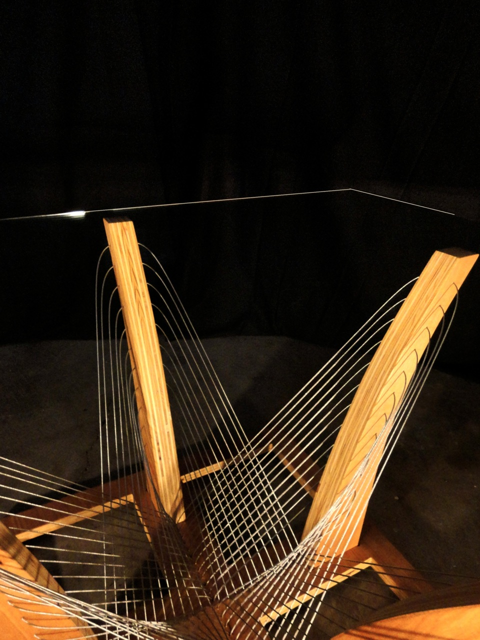 Woven Coffee Table by Robby Cuthbert