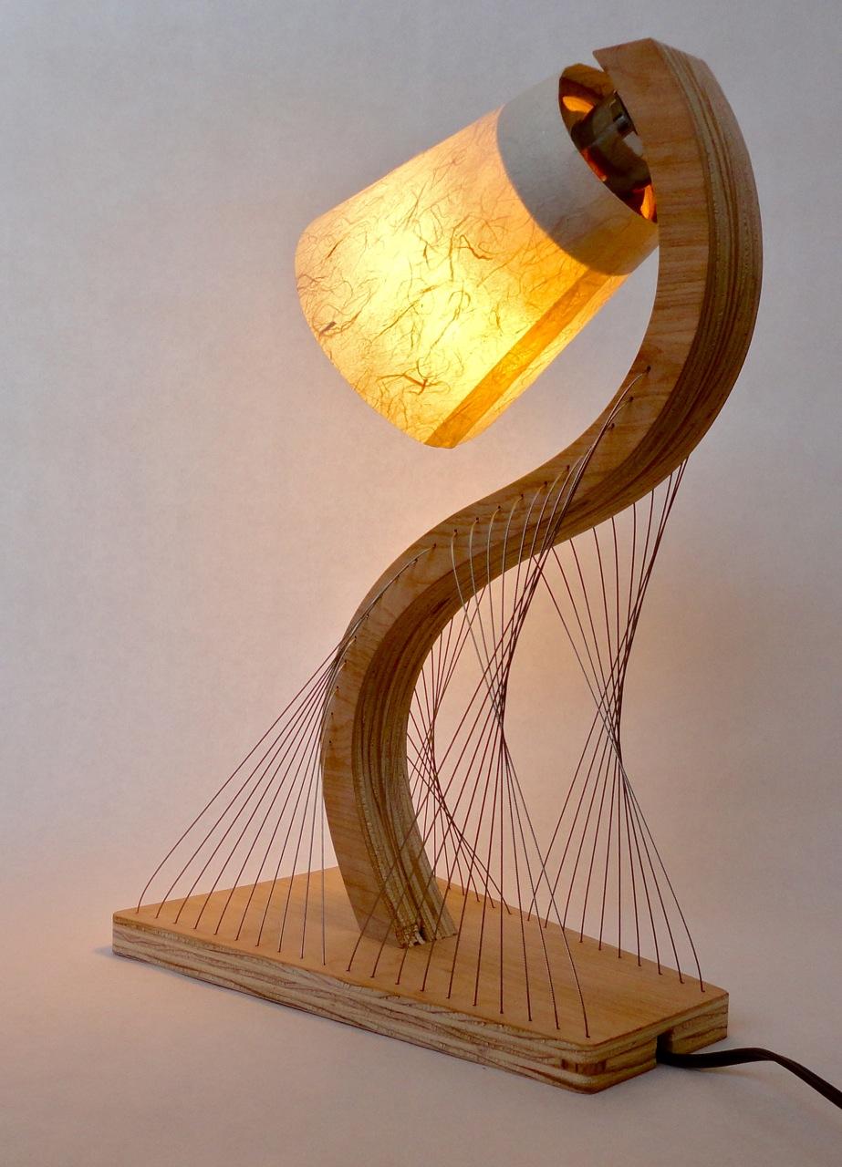 S-Curve Lamp