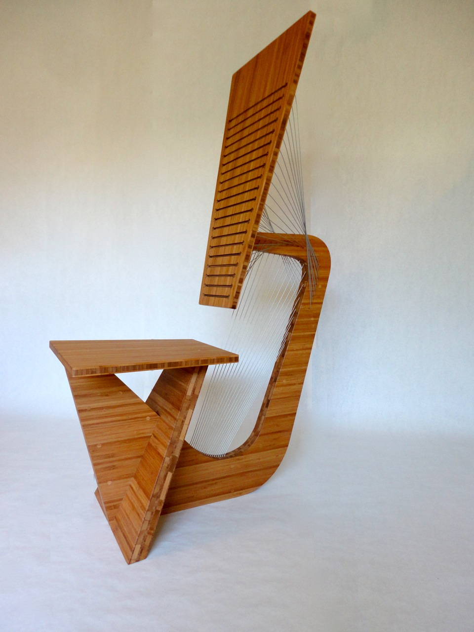 Sculptural Desk Chair