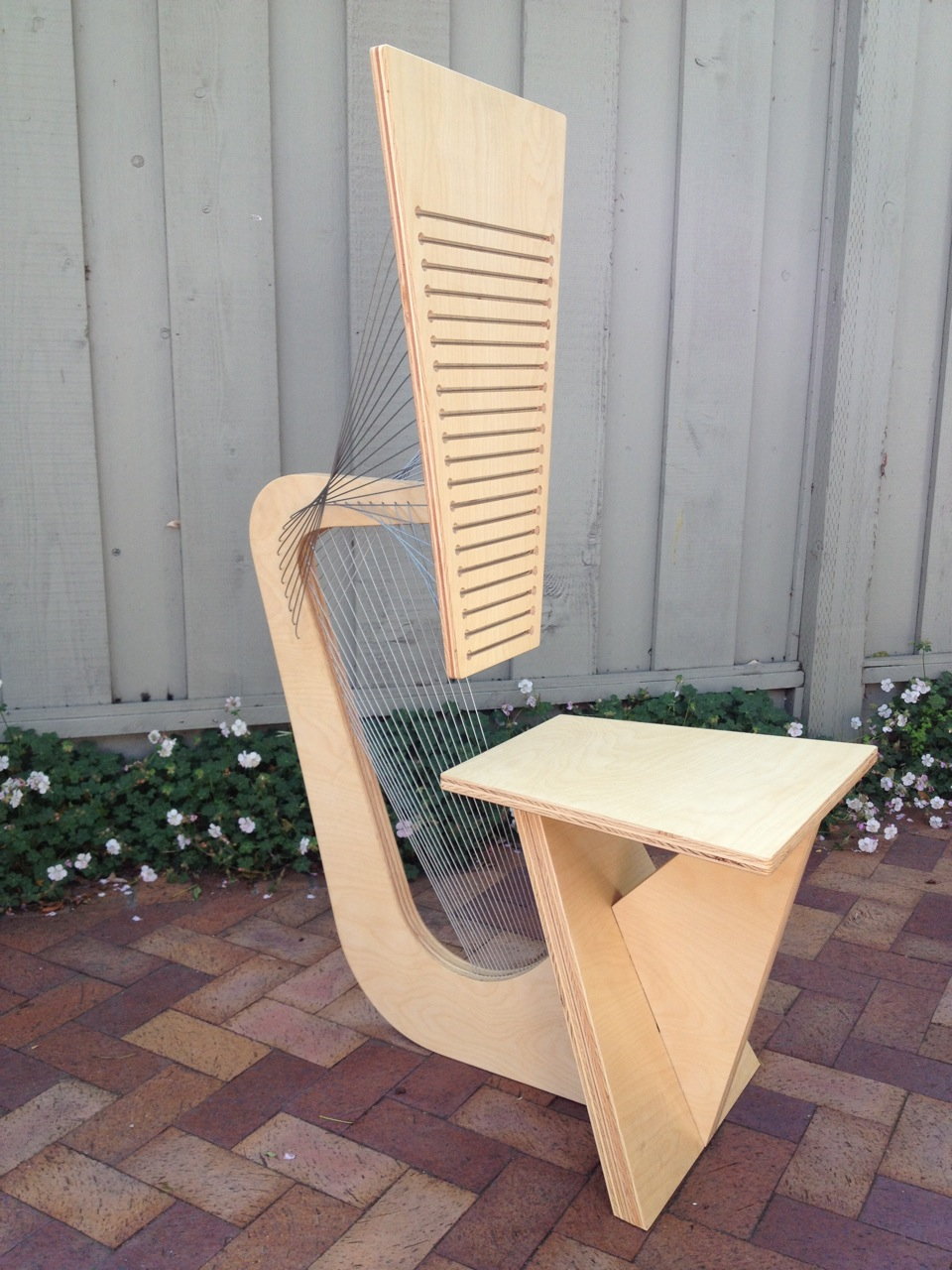 Desk Chair Prototype by Robby Cuthbert