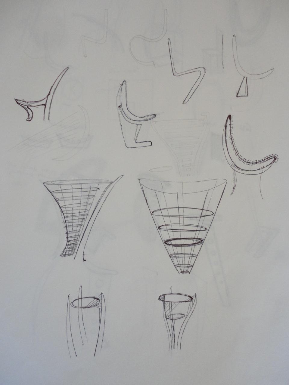 Random brainstorm sketches
