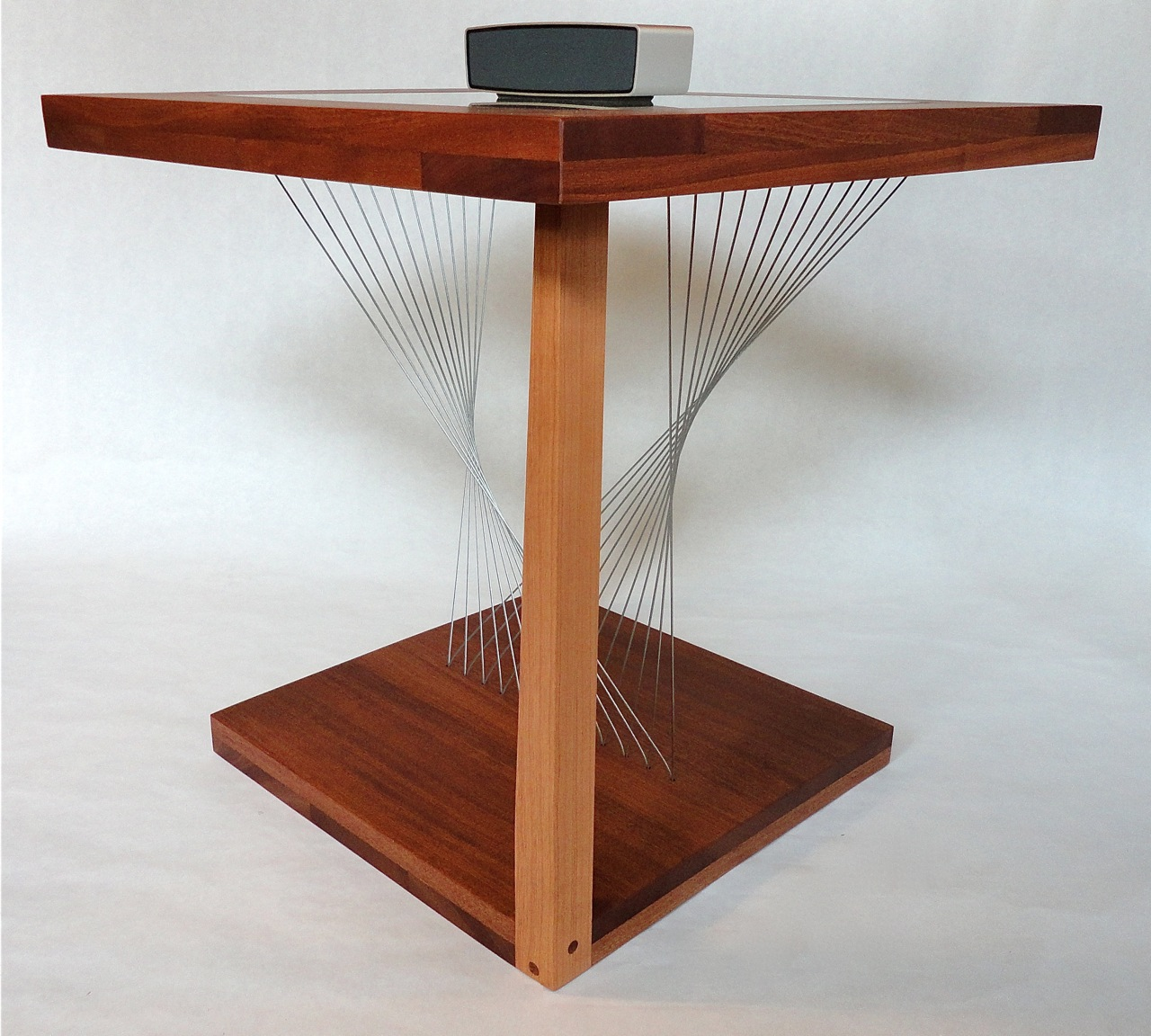 Sculpture end table Robby Cuthbert