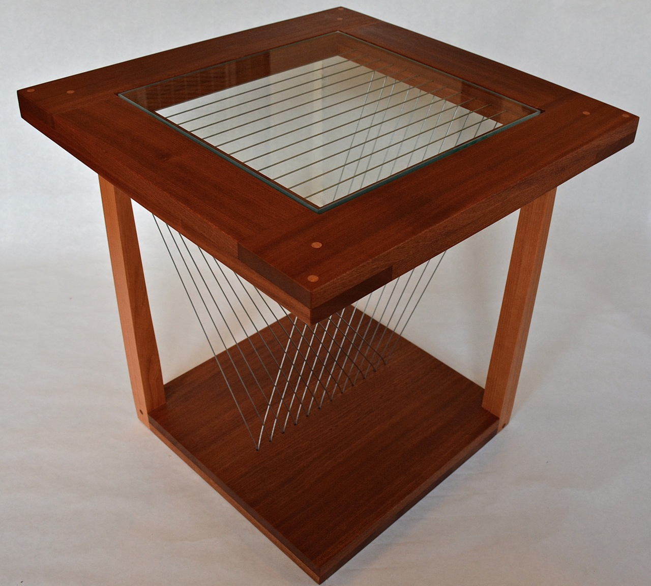 Balance End Table top view Robby Cuthbert