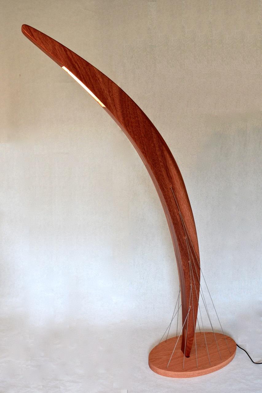 Arc Floor Lamp by Robby Cuthbert