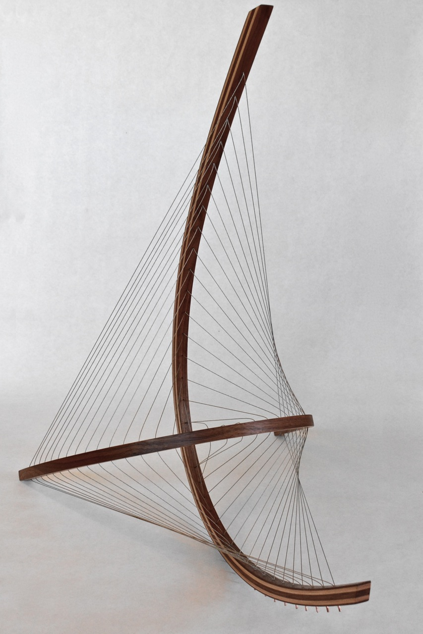 Sail Sculpture by Robby Cuthbert