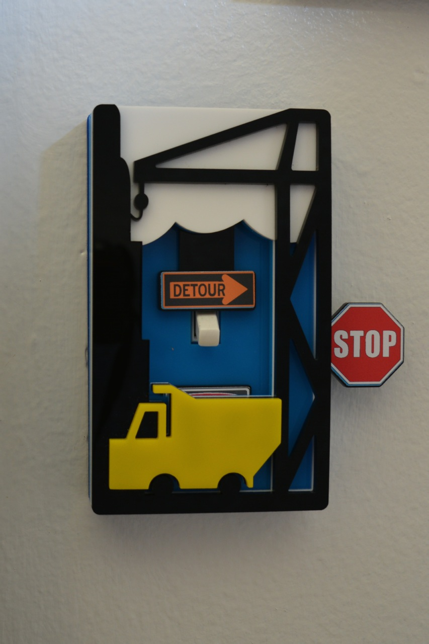 Trucks light switch cover by Robby Cuthbert single switch