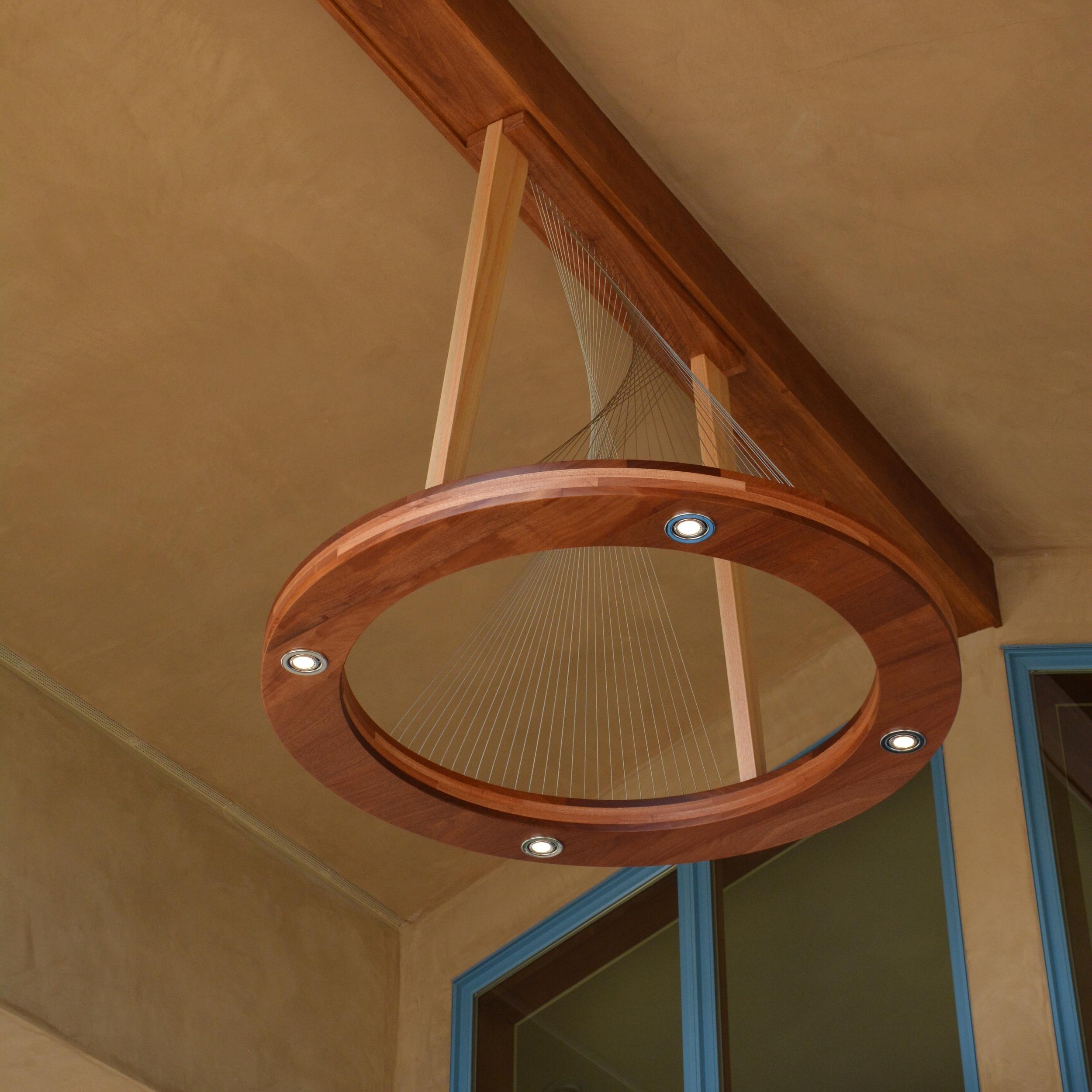 Ring Light by Robby Cuthbert - A modern outdoor light fixture
