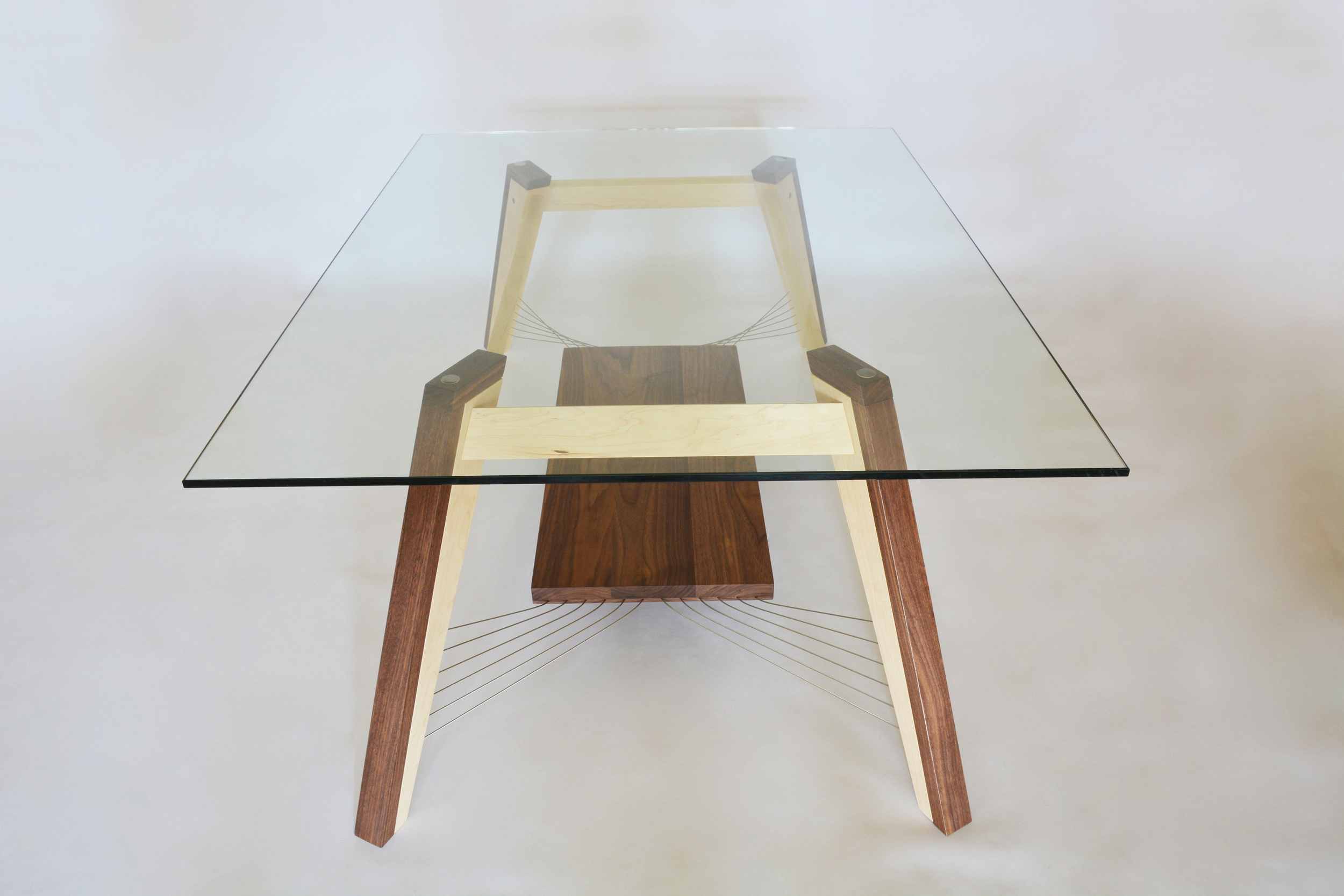 X-Weave Coffee Table with Shelf