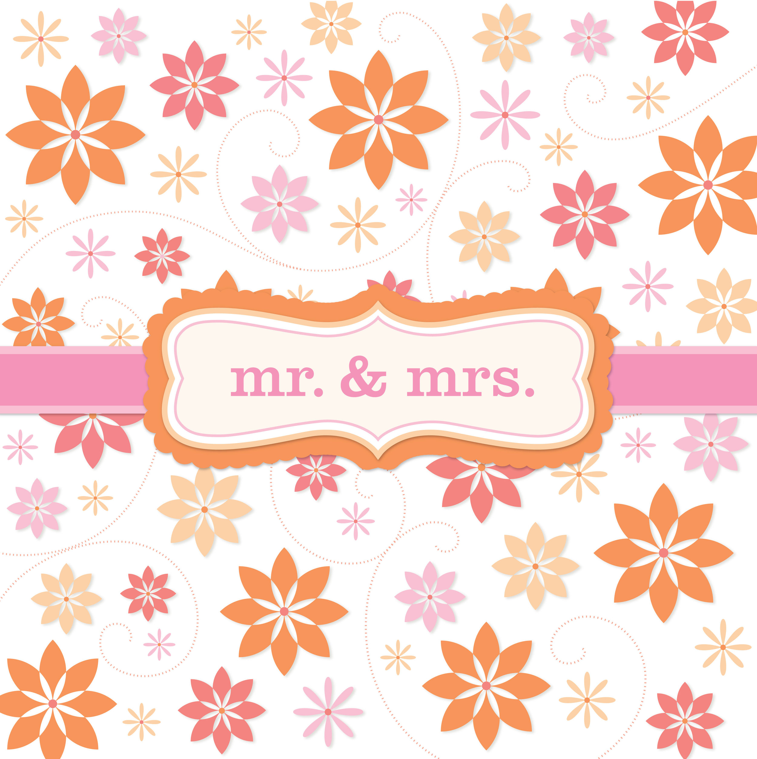 Newlywed Greeting Card for Design Direction