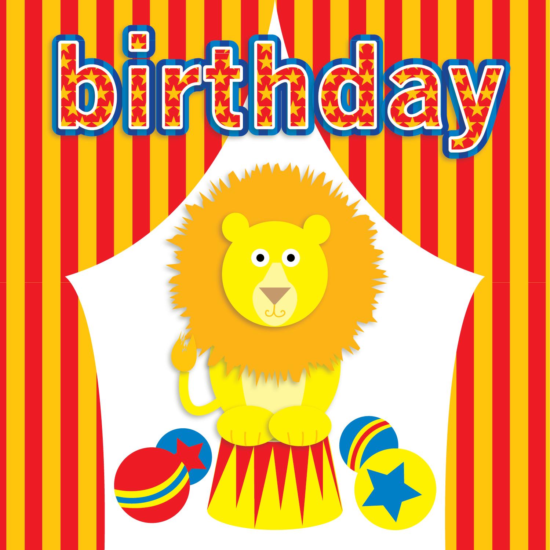 Kids Birthday Card for Design Direction