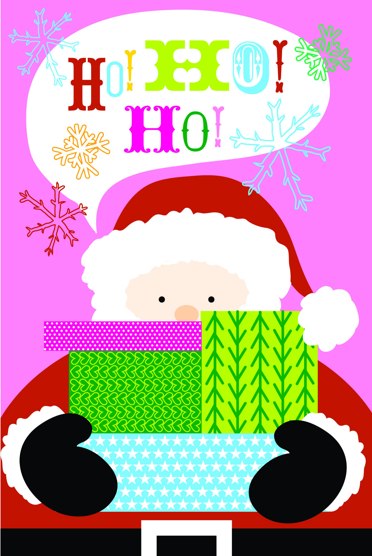 Holiday Greeting Card for Masterpiece Studios