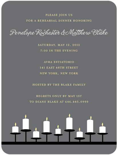 Rehearsal Dinner Invite for Wedding Paper Divas