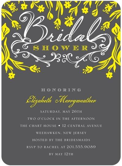 Bridal Shower Invite for Wedding Paper Divas
