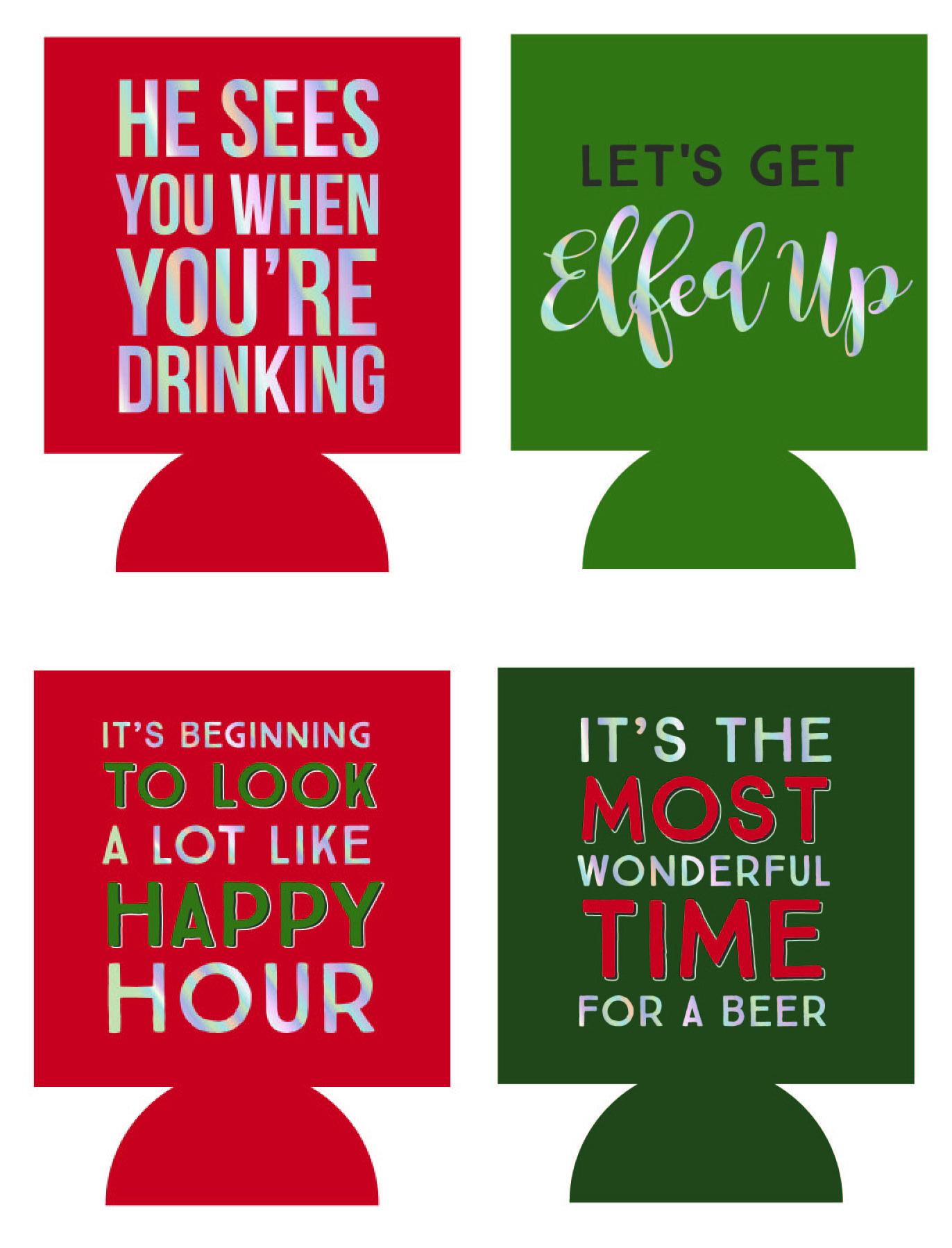 Christmas Coozies