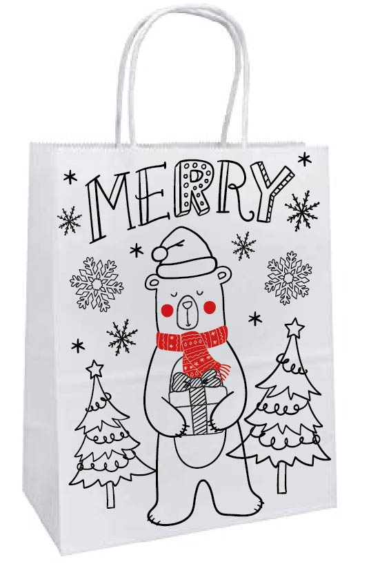 Color Your Own Gift Bag