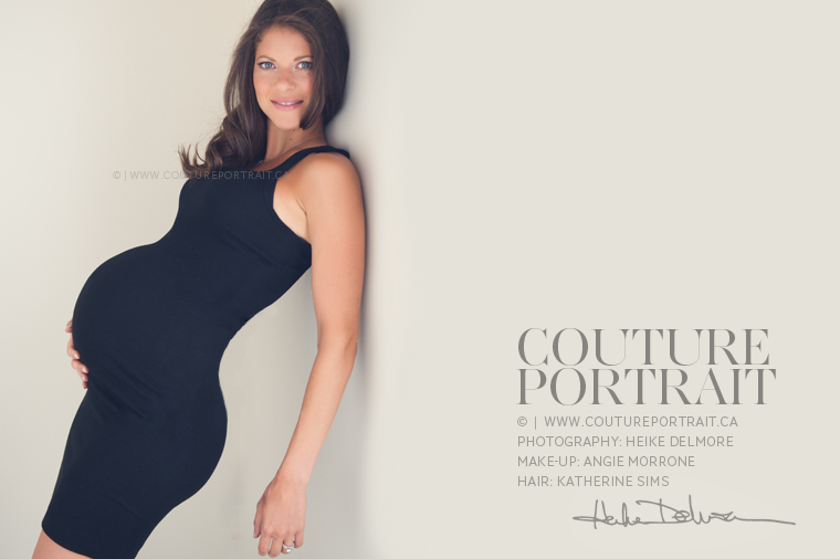 Windsor Maternity Portrait Photographer | www.coutureportrait.ca | by Heike Delmore