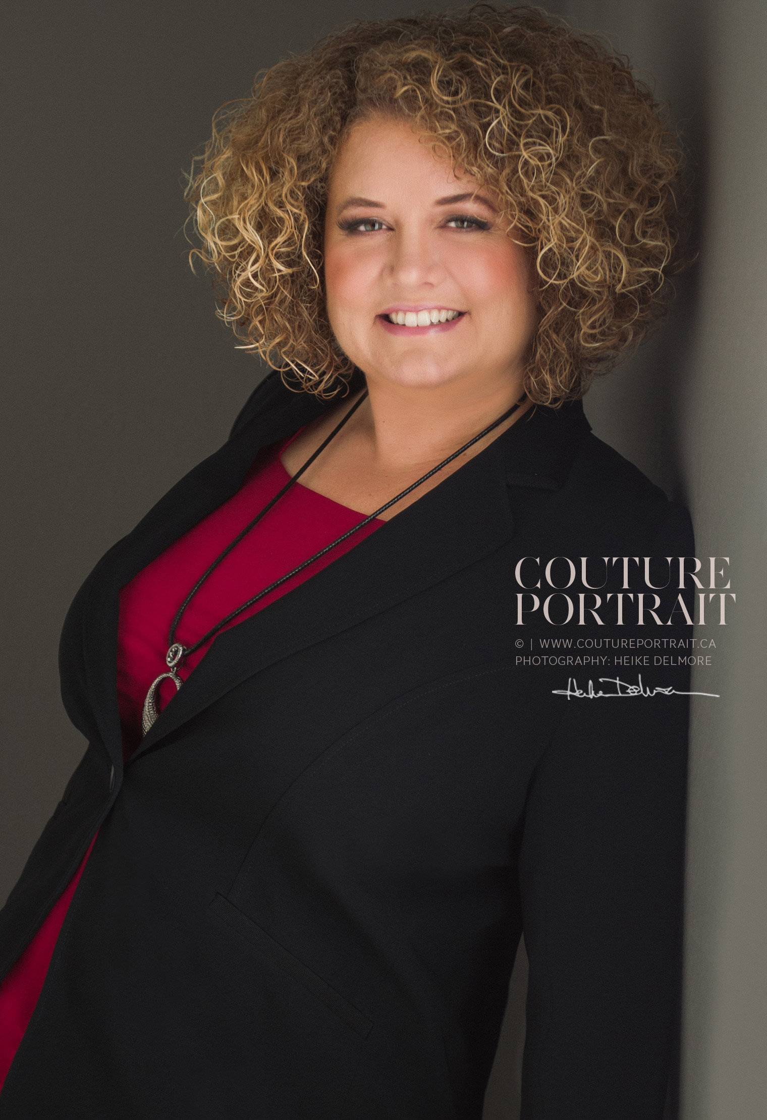 windsor corporate headshot by Heike Delmore Couture Portrait