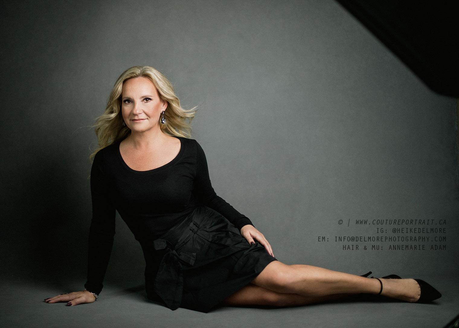 Women's Portrait Photography by Heike Delmore