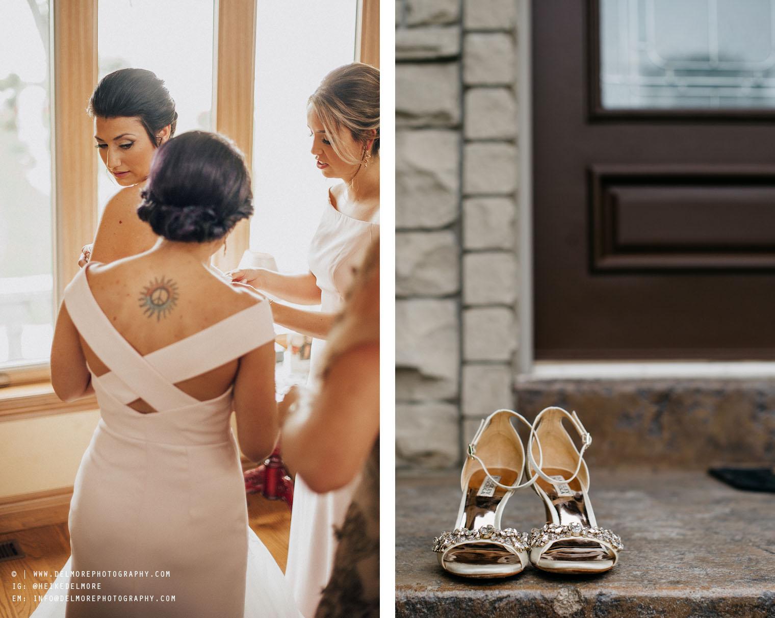 Windsor Wedding Photographers Getting Ready