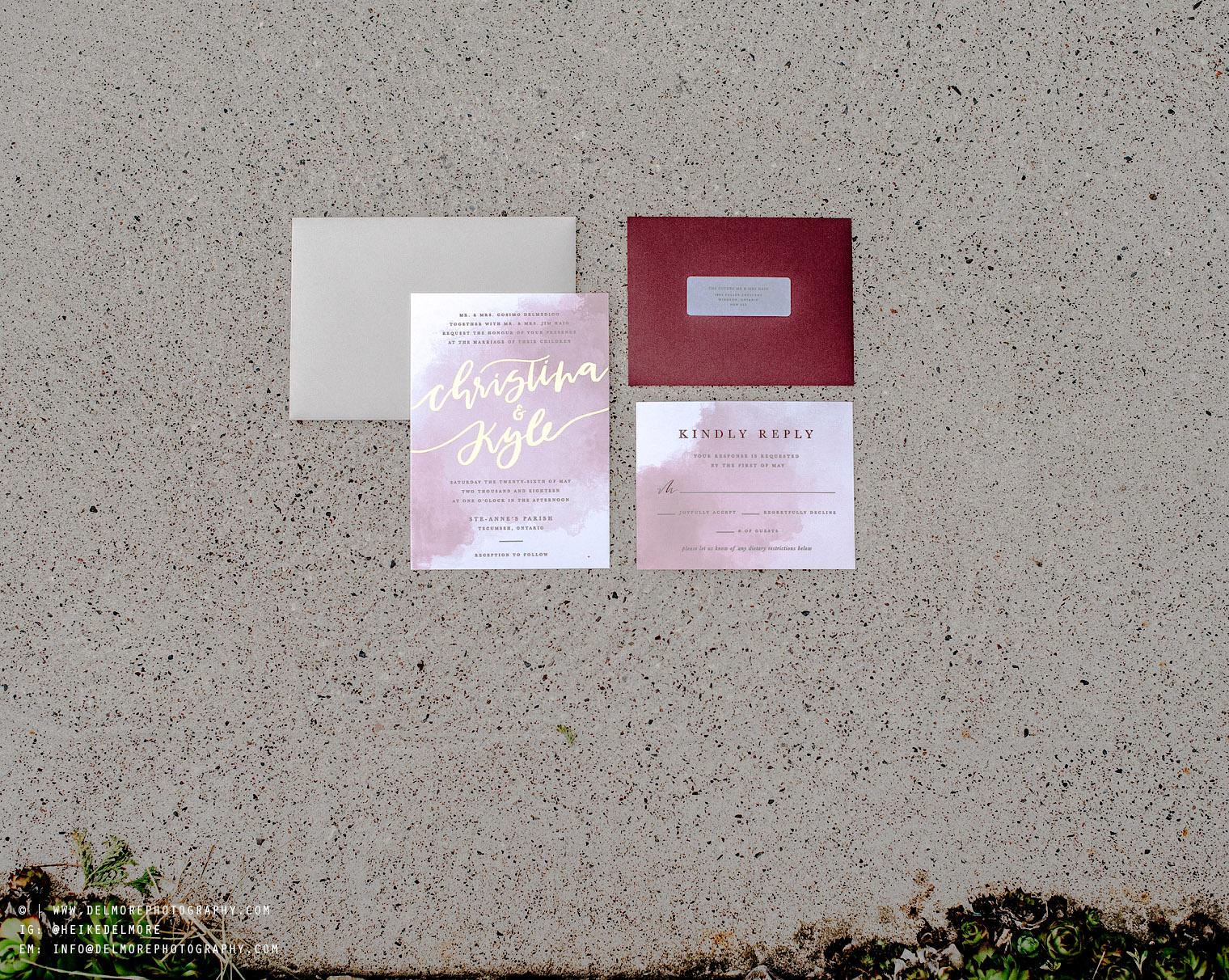 Windsor Wedding Photographers Invitations