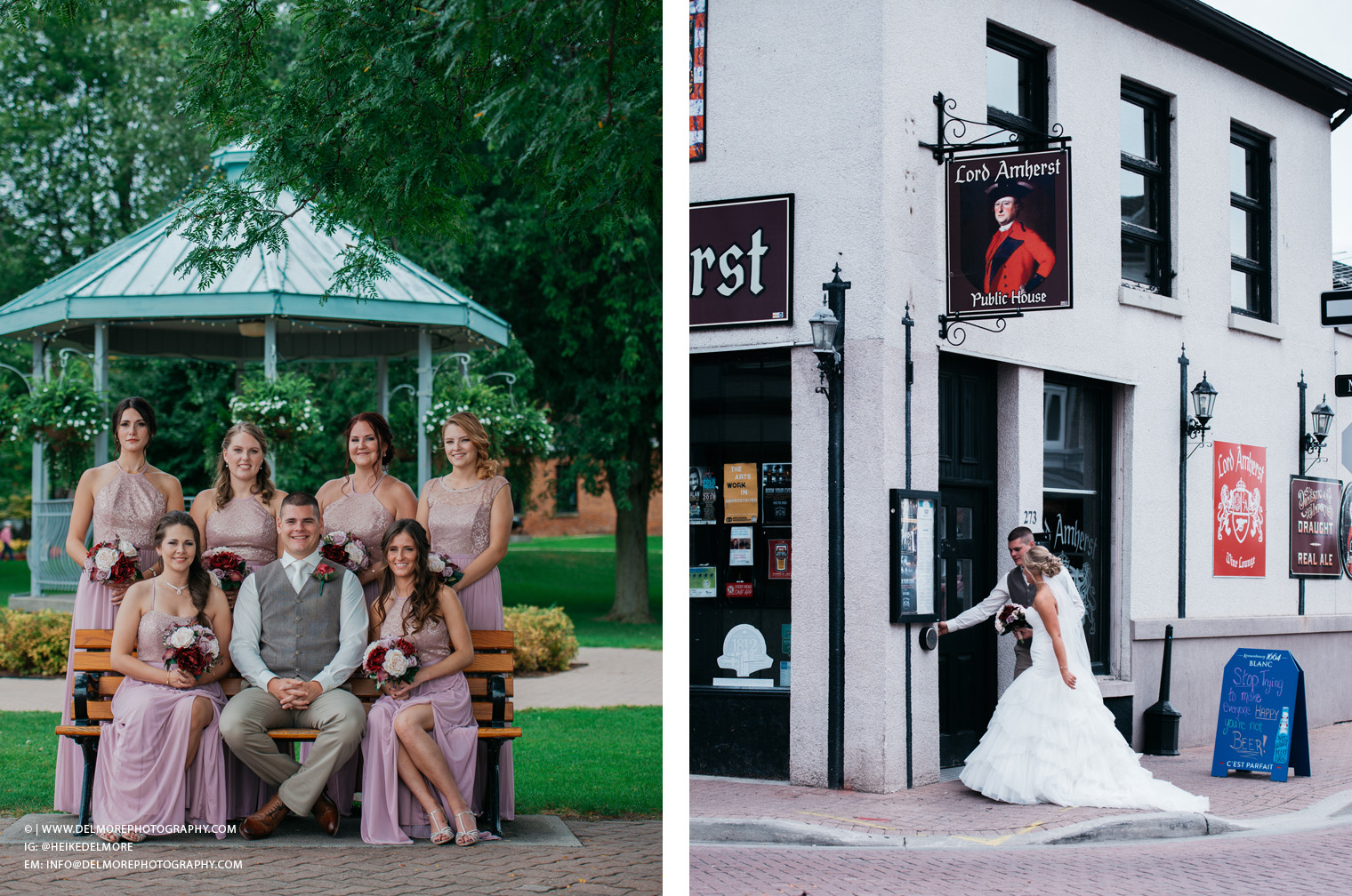 Top Amherstburg Navy Yard Ontario Wedding Photographers