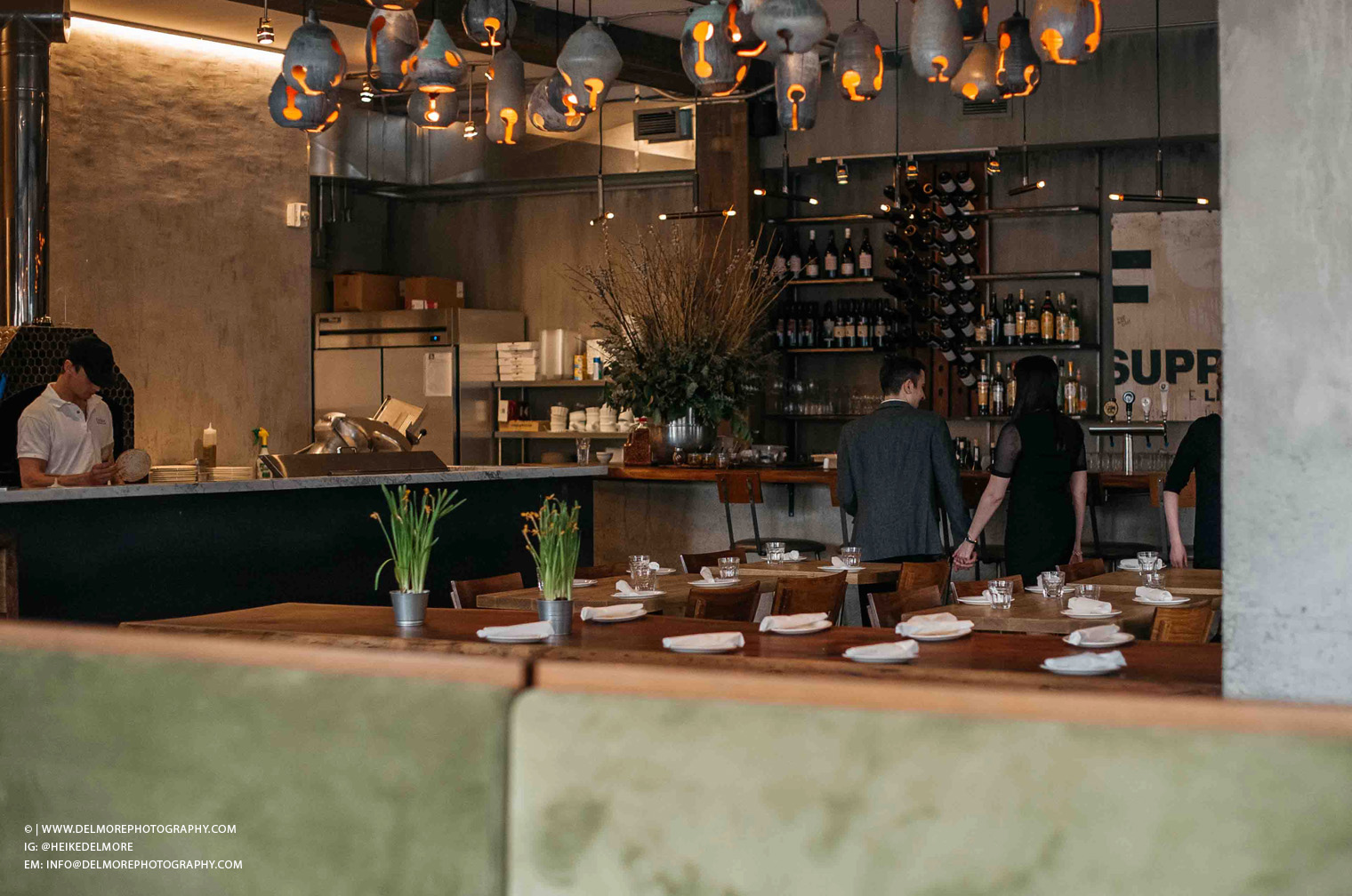Top Windsor Engagement Photographers Cafe