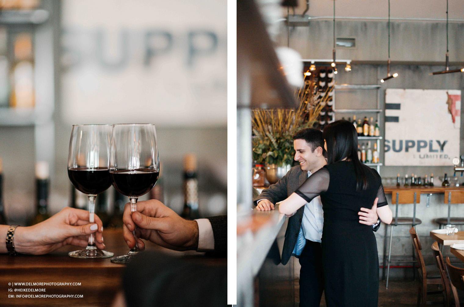 Top Windsor Engagement Photographers Delfina Restaurant