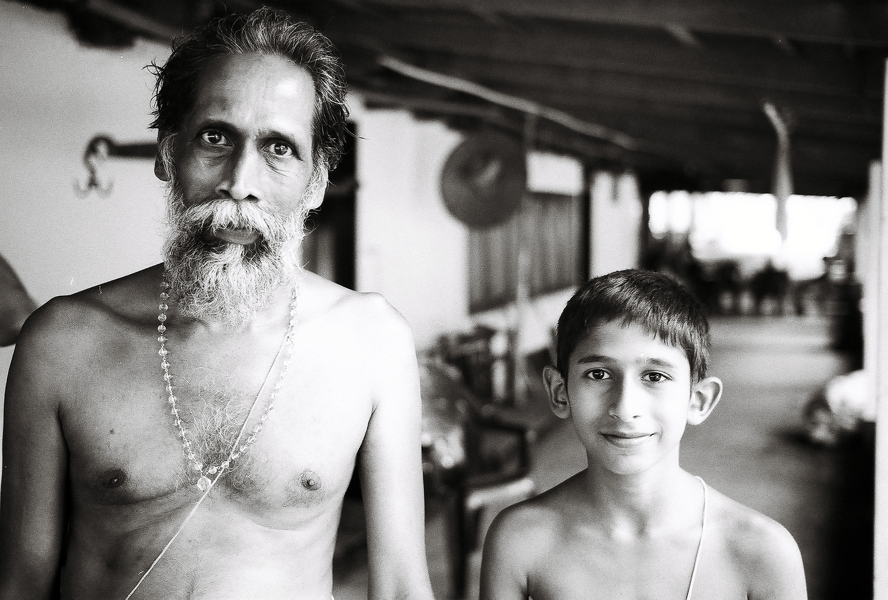 Krishnan & his son Shivakaran 35mm