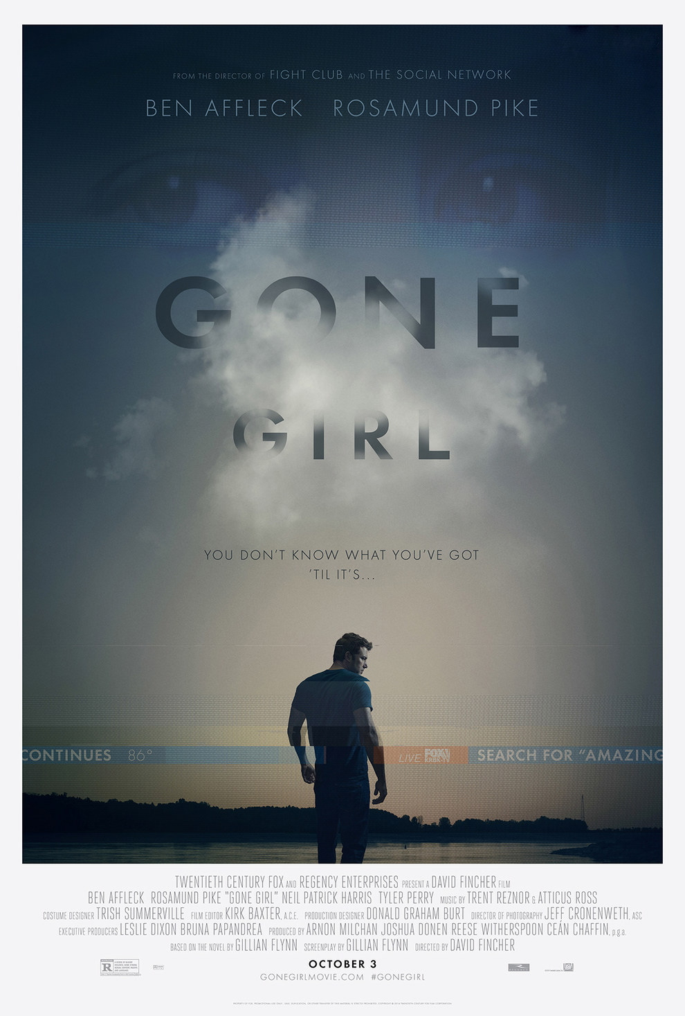Gone Girl - Ben Affleck and Rosamund Pike