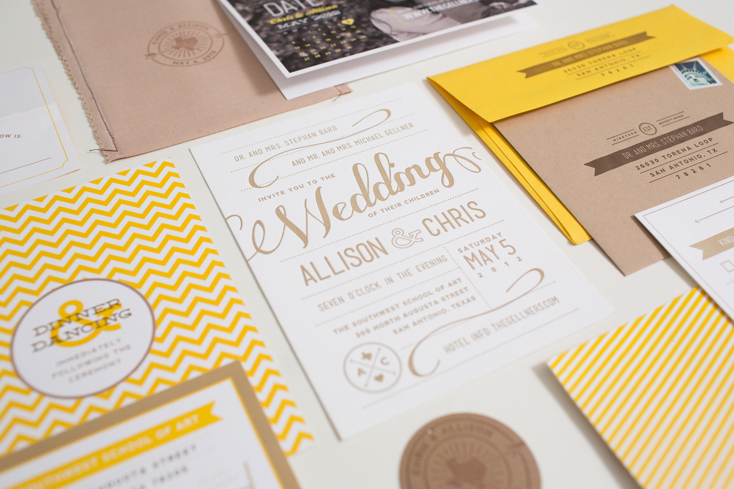 Bells & Whistles - This could be your wedding invite!