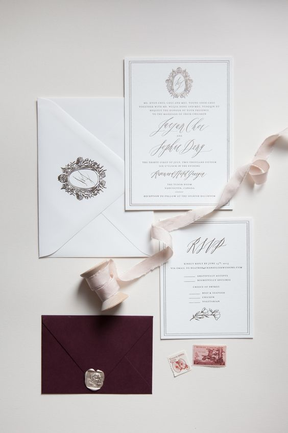Ummm. Yes, everything here is fabulous. Design by  Written Word Calligraphy