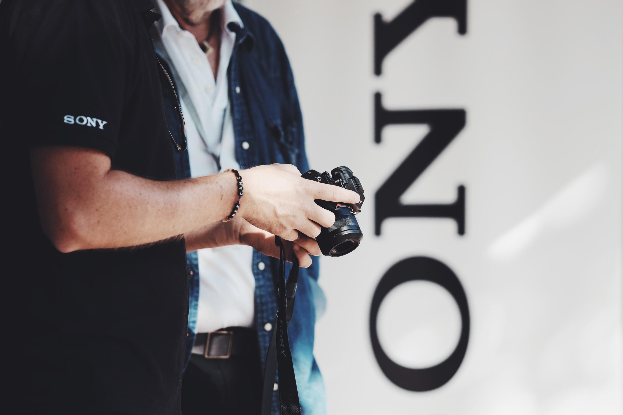 Folk fick fingrarna på Sonys nya A7RII för första gången.