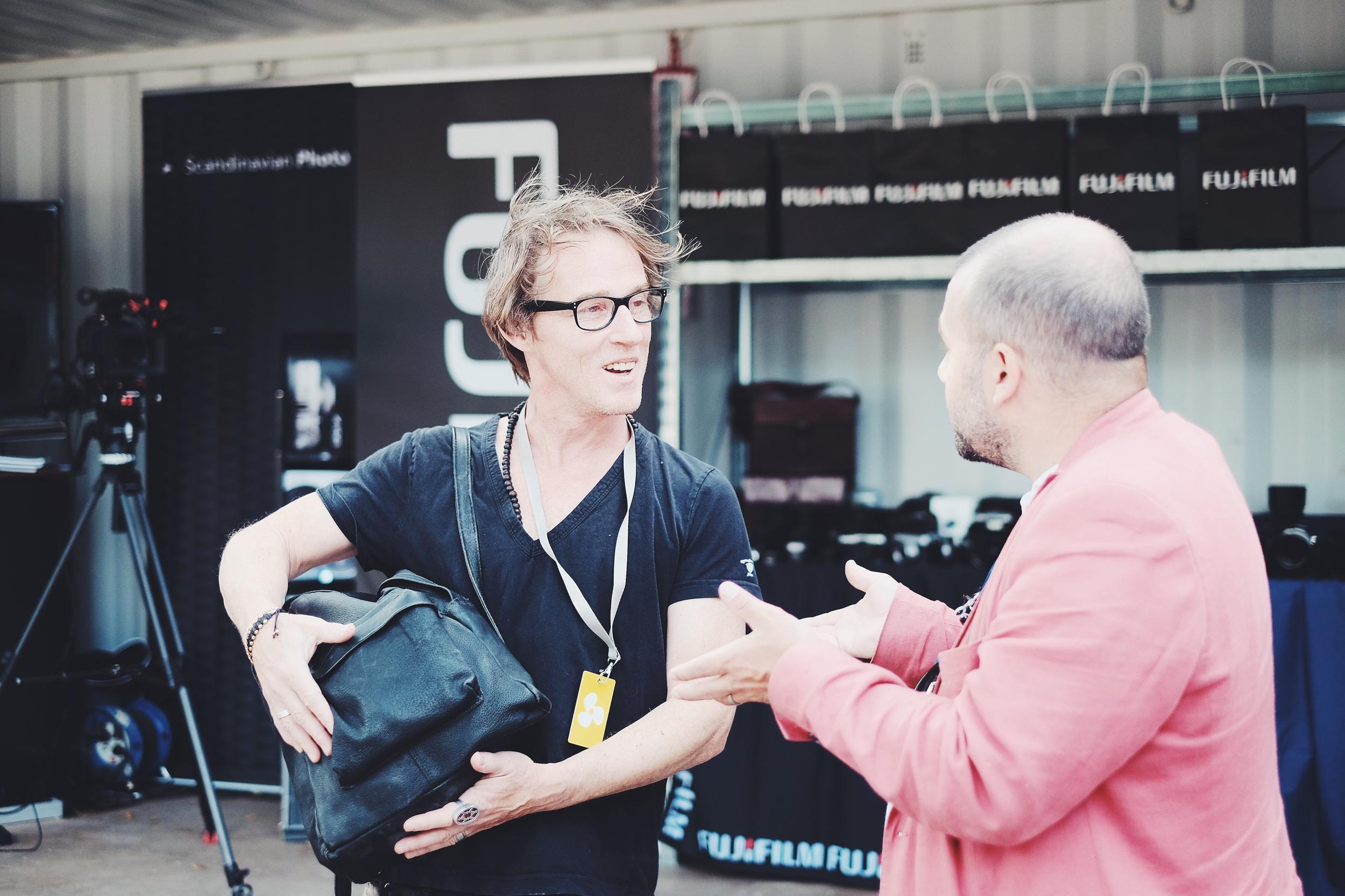 Anders talar om Expon och våra nya lokaler.
