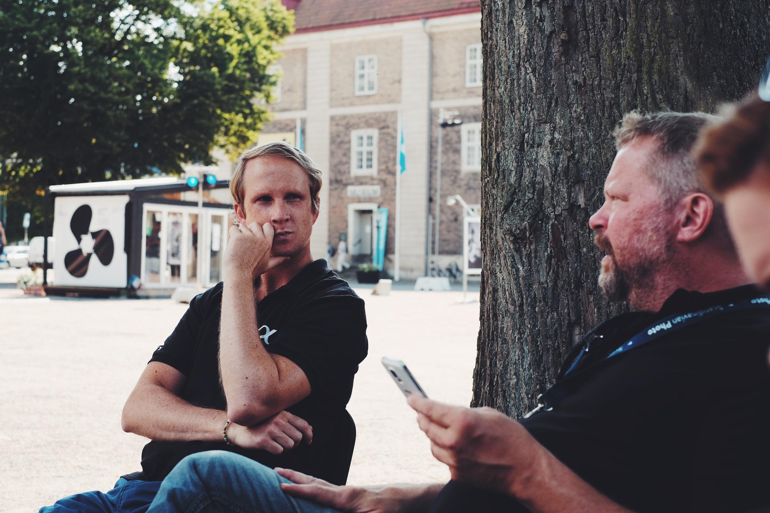 Peter och Johan pratar om Expon och tankar om hösten.