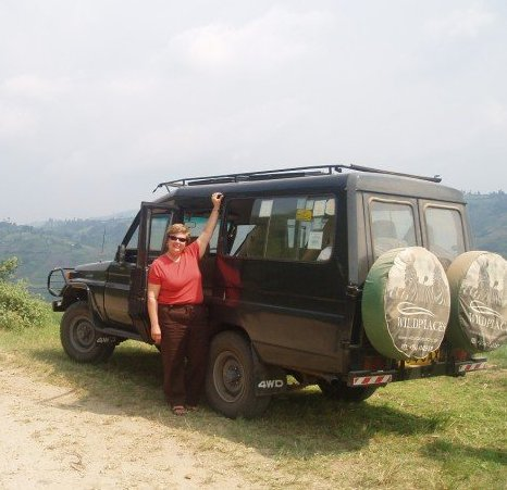 Changing a Tire - Uganda