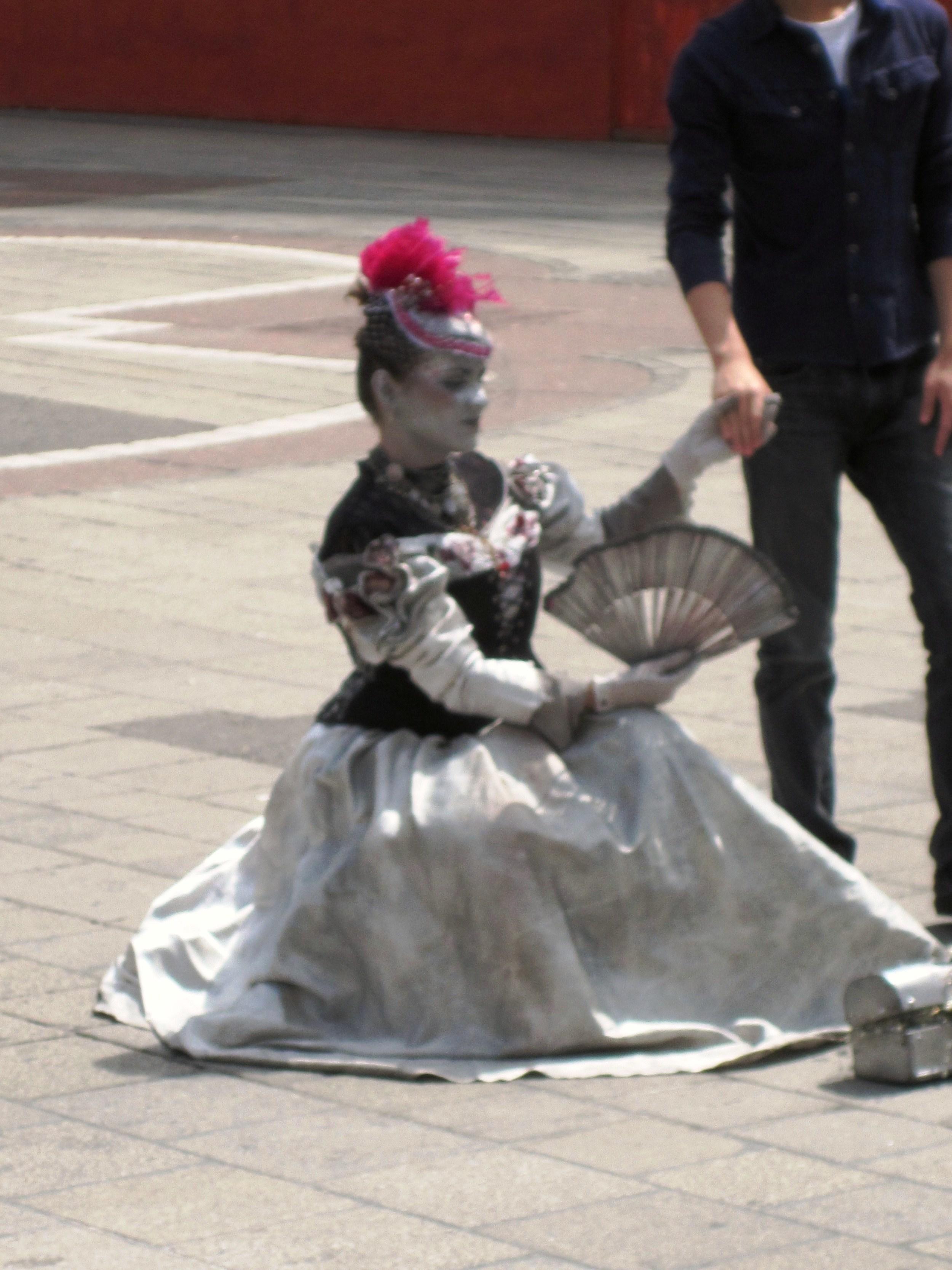 Street Performer - Prague