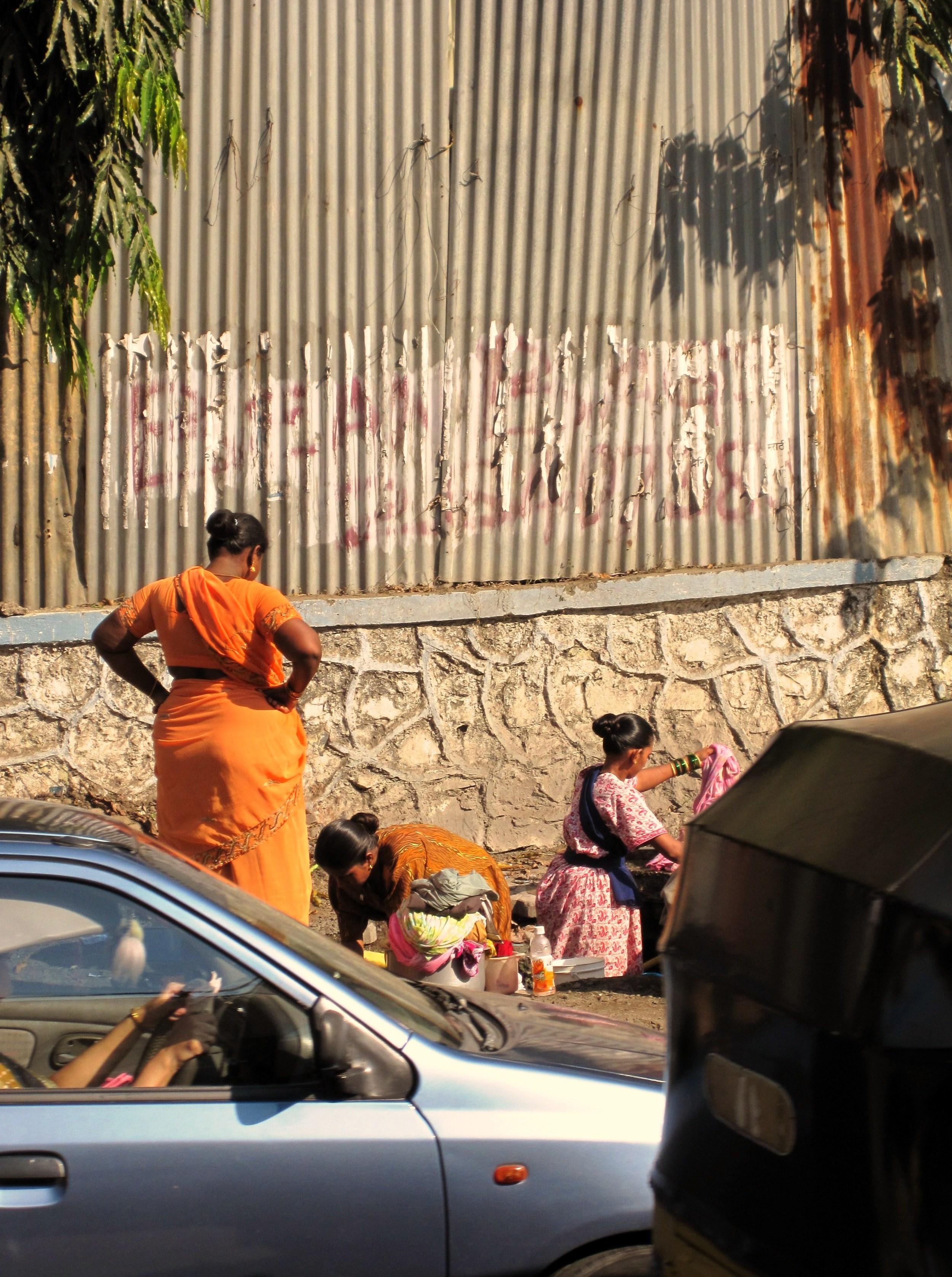 Washing Clothes - India