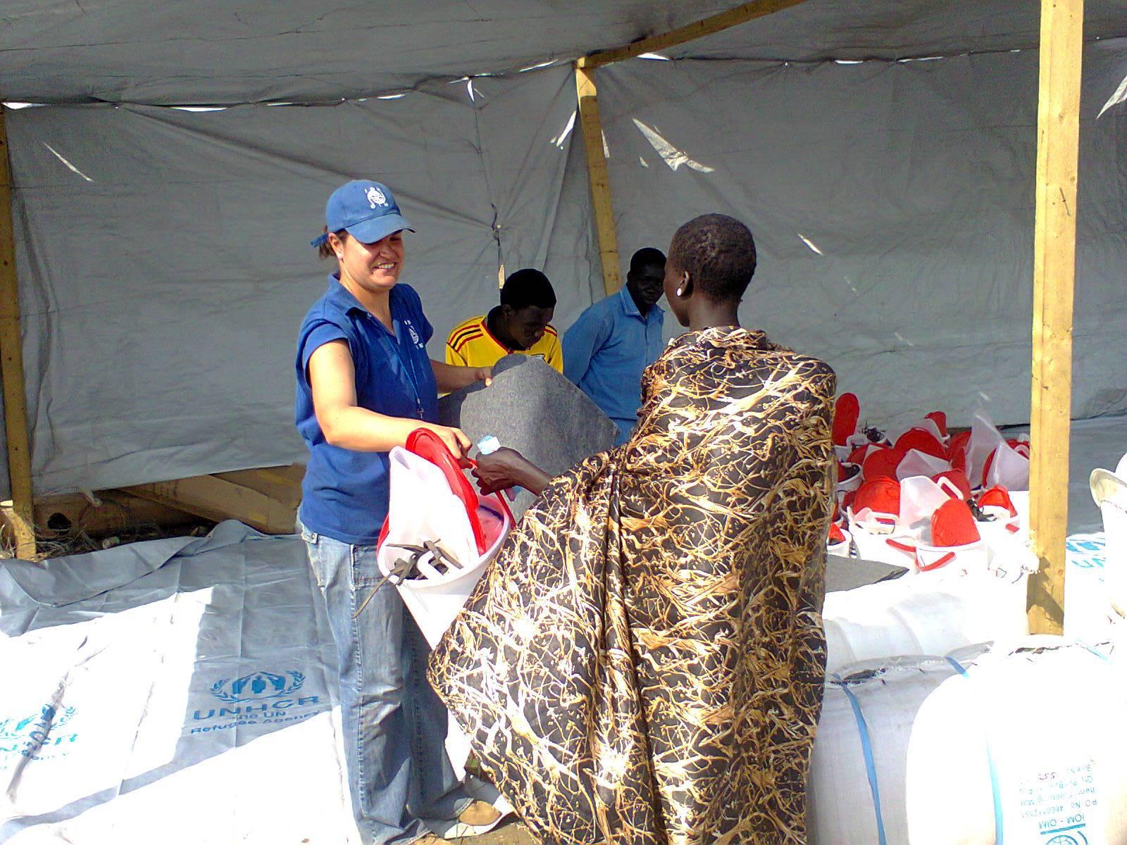 At Work - South Sudan