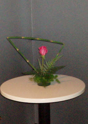 MOM'S IKEBANA ARRANGEMENT