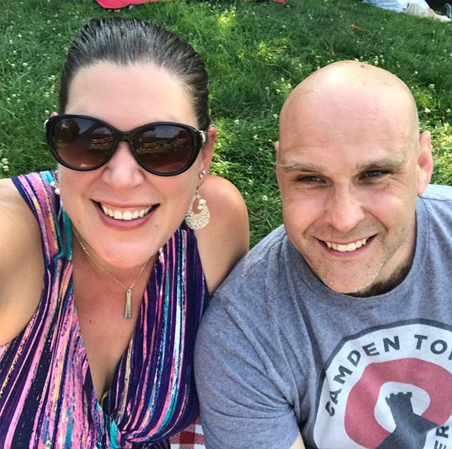 Getting ready for a throwback concert with BNL and Better Than Ezra. 90's date night!!!! #concertunderthestars  #picnicandbeer  #photoaday2018