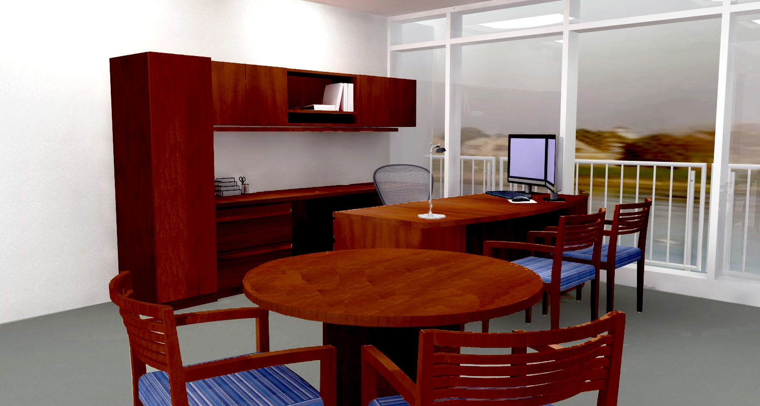 Executive office. Rendering