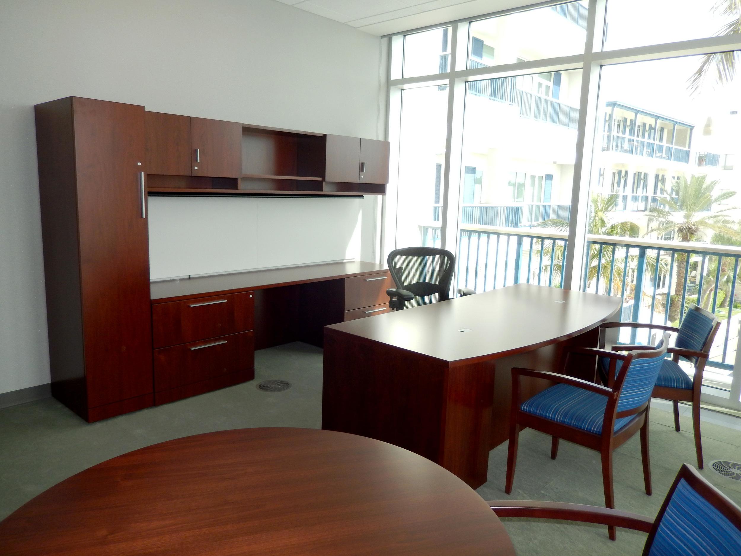Executive office. Photograph