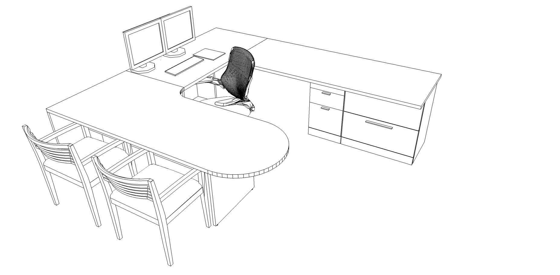Standard office layout