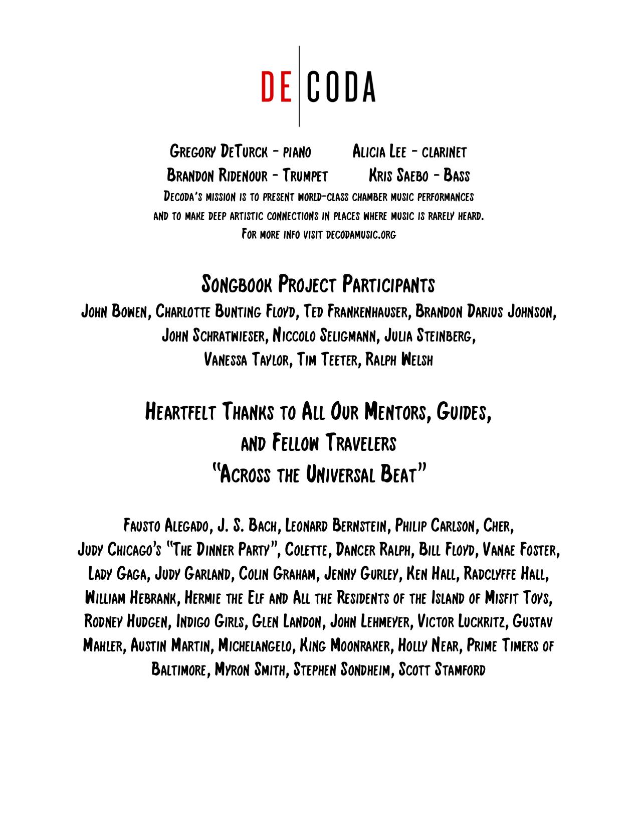 Concert Program, page 4