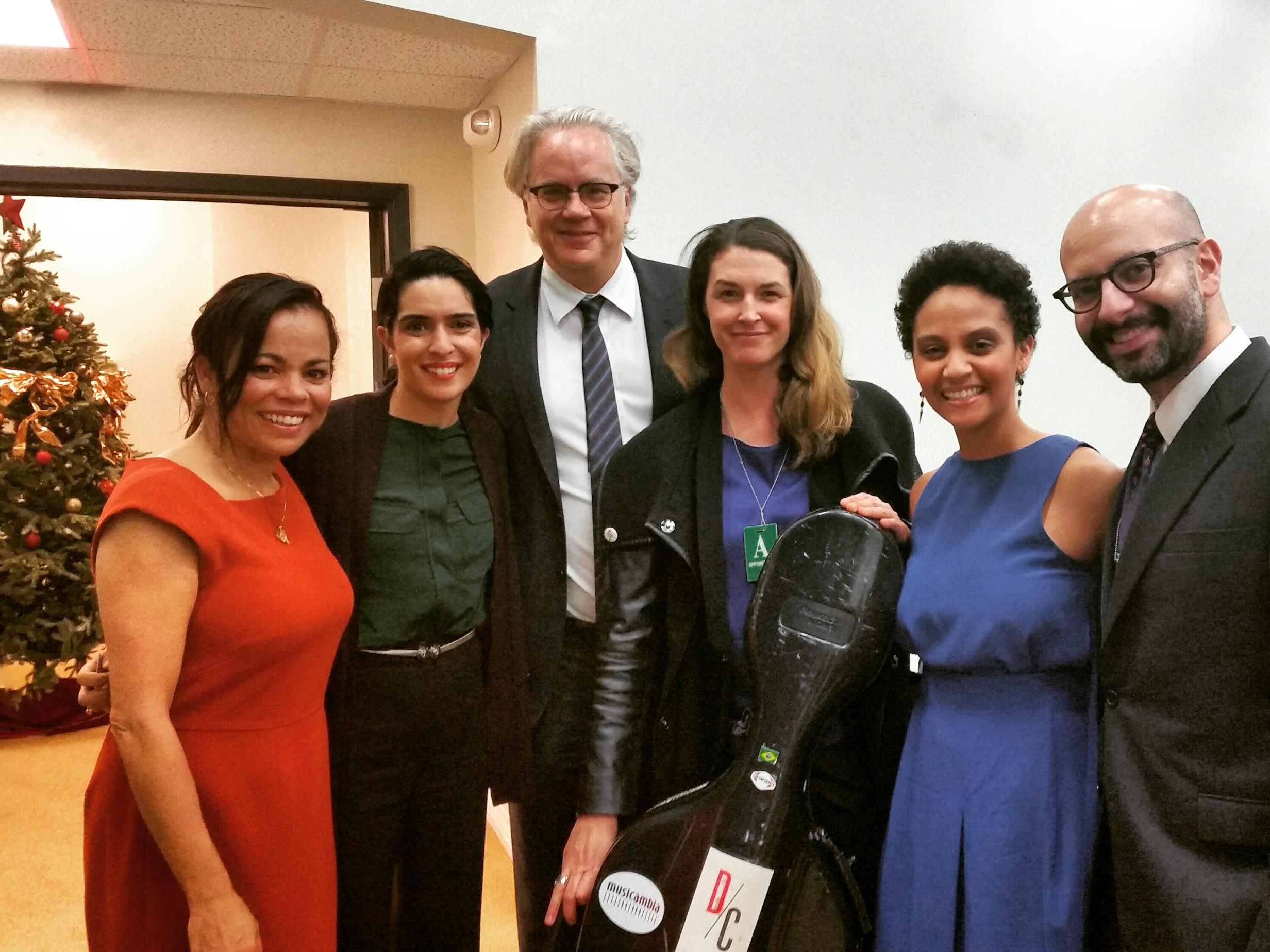 Sabra Williams, Meena Bhasin, Tim Robbins, Claire Bryant, Sarah Elizabeth Charles, John Marcus