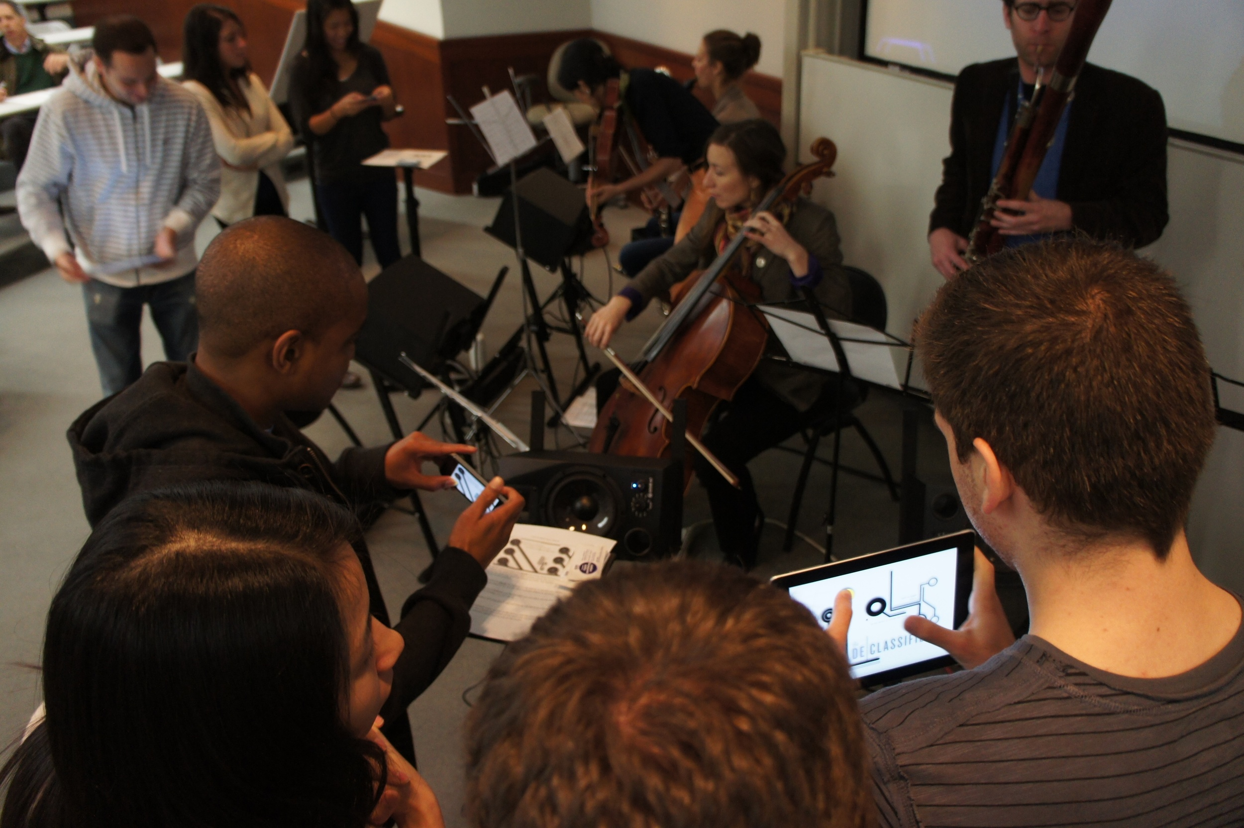"T.Riley's ""In C"" at NYU - When music meets technology, anyone can make music!"