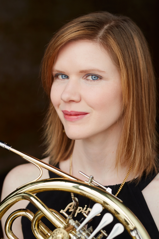 Laura Weiner, horn