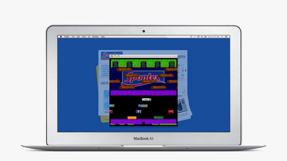 Website Spontex Spain