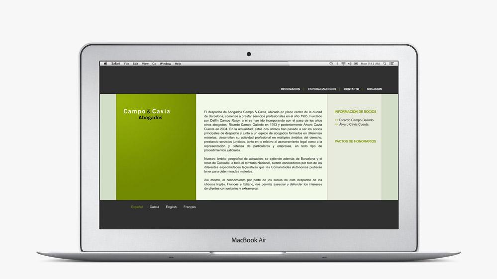 Website Campo & Cavia